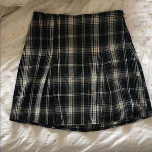 Brandy Plaid skirt